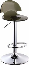 Home Bar Stuhl / Europäische Bar Stuhl / Bar Stuhl / Acryl Bar Hocker / vorderen Aufzug hohen Hocker ( Farbe : Schwarz )