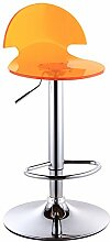 Home Bar Stuhl / Europäische Bar Stuhl / Bar Stuhl / Acryl Bar Hocker / vorderen Aufzug hohen Hocker ( Farbe : Gelb )