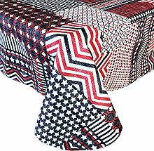 Home Bargains Plus Americana Patchwork-Tischdecke