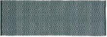 Home Basics Englischem hm14p Teppich für Haus, Baumwolle, Grün, 70x 200cm