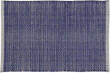 Home Basics hm1a Teppich für Haus, Baumwolle, Marineblau, 60x 90cm