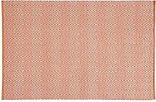 Home Basics HM10M Teppich für Haus, Baumwolle, Coral, 120x 180cm