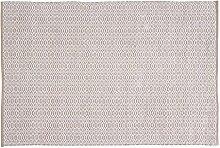 Home Basics hm15m Teppich für Haus, Baumwolle, Leinen, 120x 180cm