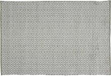 Home Basics hm18m Teppich für Haus, Baumwolle, Olivgrün, 120x 180cm