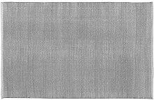 Home Basics hm26m Teppich für Haus, Baumwolle, Perlgrau, 120x 180cm