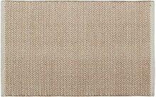Home Basics hm3a Teppich für Haus, Baumwolle, Leinen, 60x 90cm
