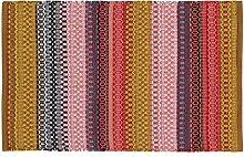 Home Basics hm5a Teppich für Haus, Baumwolle, mehrfarbig, 60x 90cm