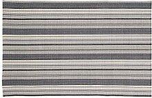Home Basics hm7m Teppich für Haus, Baumwolle, Blau Frankreich, 120x 180cm
