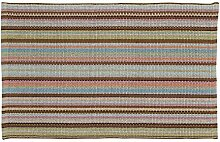 Home Basics hm9a Teppich für Haus, Baumwolle, Provence, 60x 90cm