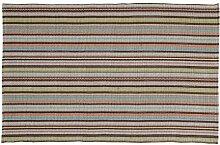 Home Basics hm9m Teppich für Haus, Baumwolle, Provence, 120x 180cm