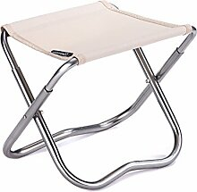 Home bequemer Klappstuhl Hocker Klappstuhl Klappstuhl Aluminium Klappstuhl Aluminiumlegierung Angelstuhl QLM-Folding chair and stool ( Farbe : 2# )