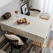 Home Brilliant Quadratische Tischdecke für