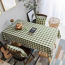 HOME BRILLIANT Tischdecke, kariert, für