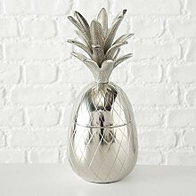 Home Collection Metall Dose Deko-Dose Ananas H36cm