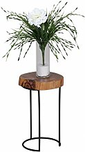 Home Collection24 Beistelltisch AKOLA Massiv-Holz