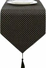 Home Decor Luxus Tischläufer Moderne Bettläufer Teal Tischdecke , 13 * 71 Zoll