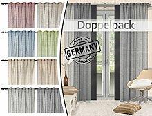 Home Decoration Doppelpack - Fertigvorhänge mit
