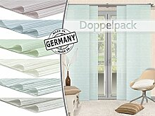 Home Decoration Doppelpack - Schiebevorhang Ella -