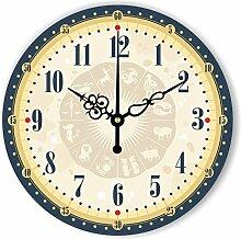 Home Decoration Wanduhr Große dekorative Wanduhr Uhr für Wohnzimmer Study Room Decor