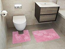 Home Decoration World Badematte, Feet Pink