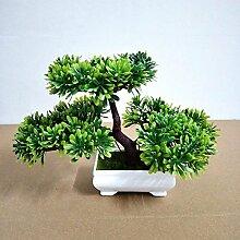 Home Dekorative Blumen Simulation künstliche blumen Künstliche Pflanze Früchte Blume Baum Grün Topf Wohnzimmer Tisch Dekoration Lucky Feng Shui deko ( multicolore) , #43
