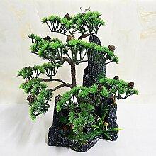 Home Dekorative Blumen Simulation künstliche blumen Künstliche Pflanze Früchte Blume Baum Grün Topf Wohnzimmer Tisch Dekoration Lucky Feng Shui deko ( multicolore) , #131