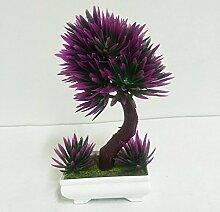 Home Dekorative Blumen Simulation künstliche blumen Künstliche Pflanze Früchte Blume Baum Grün Topf Wohnzimmer Tisch Dekoration Lucky Feng Shui deko (multicolore), 39