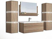 Home Deluxe - Badmöbel-Set - Wangerooge Big Holz