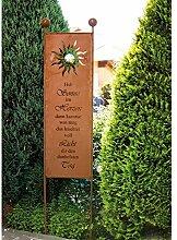 Home Deluxe | Gartenschild | Sunlight | aus Edelros