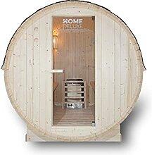 Home Deluxe - Outdoor Fasssauna 4 Personen - Lahti