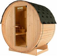 Home Deluxe - Outdoor Fasssauna inkl. Saunaofen