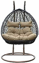 Home Deluxe | Polyrattan Hängesessel | Twin