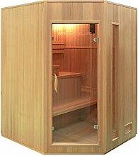 Home Deluxe Relax XL Sauna, inkl. Harvia Saunaofen