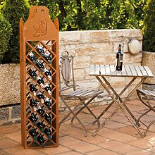 Home Deluxe Rost Weinregal Vino