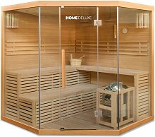 Home Deluxe - Traditionelle Sauna Skyline XL BIG |
