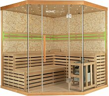 Home Deluxe - Traditionelle Sauna Skyline XL BIG
