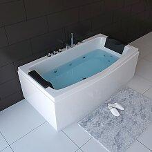 HOME DELUXE Whirlpool-Badewanne Noor, B/H/T 170 /