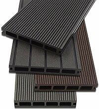 Home Deluxe - WPC Terrassendiele Anthrazit -