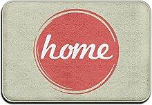 Home Design Logo Cool Fußmatte DIE