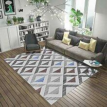 Home Designer Teppich Kurzflor Wohnzimmer Graues