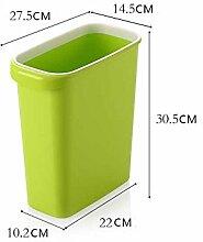 WYMNAME Papierkorb,Abfallbehälter Mülleimer im Hause & küche Runden Die bäder Schlafzimmer Office-G Aufbewahren & Ordnen