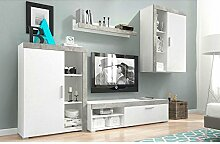 Home Direct MEG Moderne Wohnwand, Exklusive