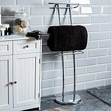 Home Discount  3 Bar Handtuchhalter, freistehend, verchrom