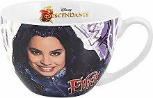 Home Disney Descendants Evie Tasse, Porzellan, Violett, 0.47 Liter, Durchmesser 12 cm