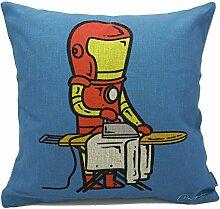 Home Elements Wäsche-Shop Superheroes'Teilzeitarbeiter Collection Kissenbezug