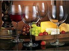 Home Essentials Bohemia Natalie/Latthammer Weinglas, Set von 6