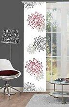 Home Fashion 86933-707 Schiebevorhang Digitaldruck