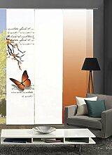 Home Fashion 88616 | 3er-Set Schiebegardinen