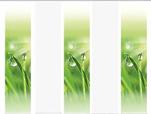 Home Fashion 95355, 5er-Set Schiebegardinen GRASPO