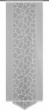 Home Fashion Schiebevorhang Polyester Weiß